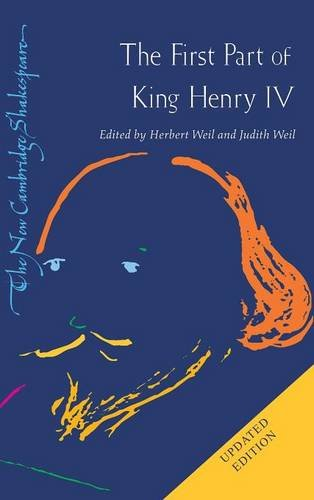 9780521868013: The First Part of King Henry IV 2nd Edition Hardback (The New Cambridge Shakespeare)