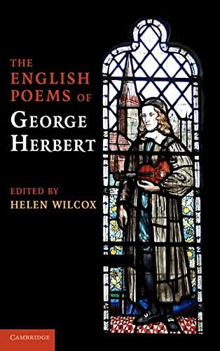 9780521868211: The English Poems of George Herbert Hardback