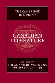 9780521868761: The Cambridge History of Canadian Literature