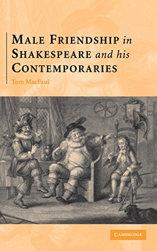 9780521869041: Male Friendship in Shakespeare and his Contemporaries