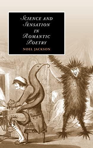 9780521869379: Science and Sensation in Romantic Poetry (Cambridge Studies in Romanticism)