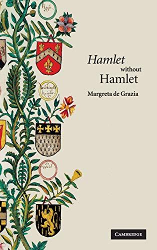 9780521870252: 'Hamlet' without Hamlet Hardback