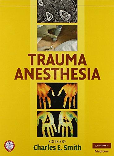 9780521870580: Trauma Anesthesia
