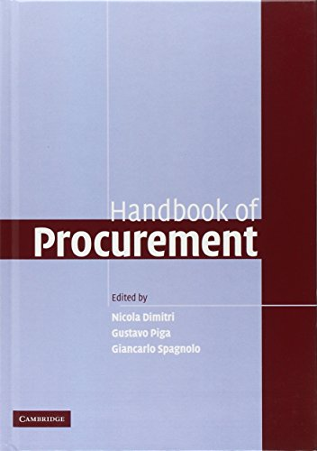 9780521870733: Handbook of Procurement