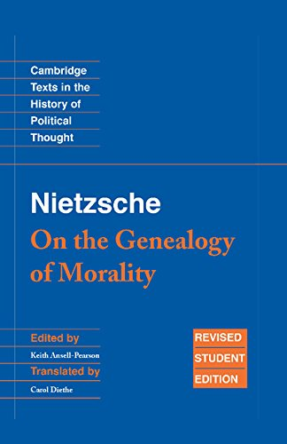 9780521871235: Nietzsche: 'On the Genealogy of Morality' and Other Writings Student Edition (Cambridge Texts in the History of Political Thought)