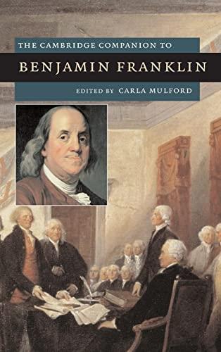9780521871341: The Cambridge Companion to Benjamin Franklin (Cambridge Companions to American Studies)