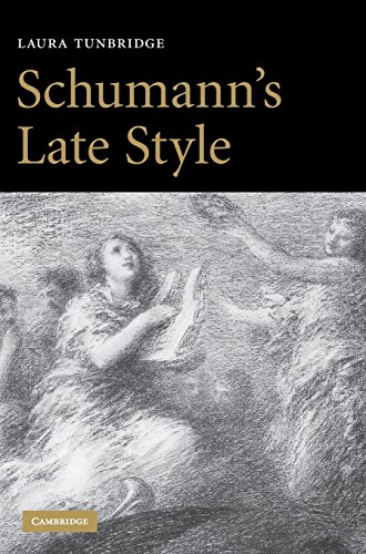 9780521871686: Schumann's Late Style