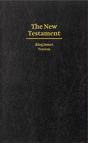 KJV Giant Print New Testament Black Hardcover KJ481N