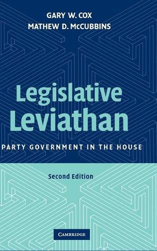9780521872331: Legislative Leviathan: Party Government in the House