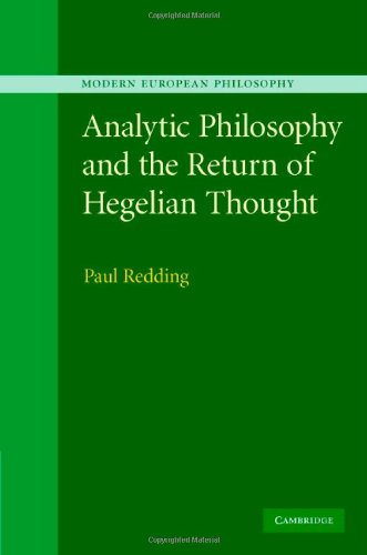 9780521872720: Analytic Philosophy and the Return of Hegelian Thought