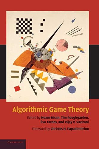 9780521872829: Algorithmic Game Theory Hardback