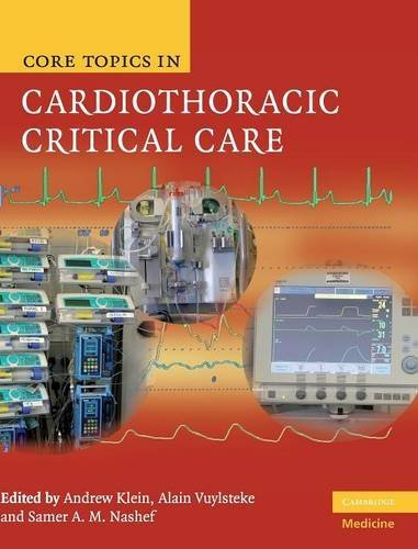 9780521872836: Core Topics in Cardiothoracic Critical Care