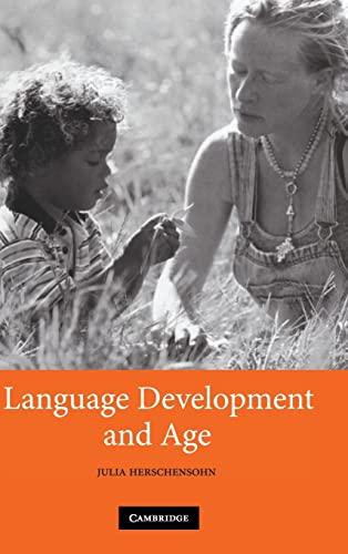 9780521872973: Language Development and Age