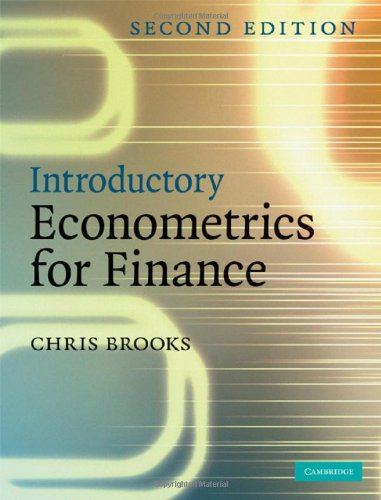 9780521873062: Introductory Econometrics for Finance