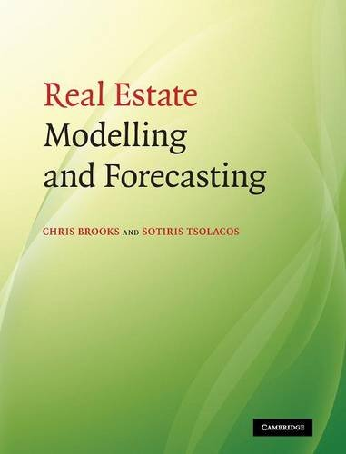 9780521873390: Real Estate Modelling and Forecasting Hardback