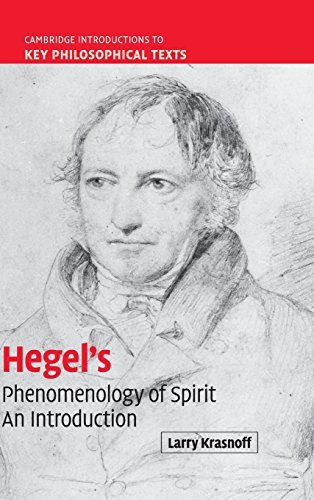 9780521873574: Hegel's 'Phenomenology of Spirit': An Introduction (Cambridge Introductions to Key Philosophical Texts)
