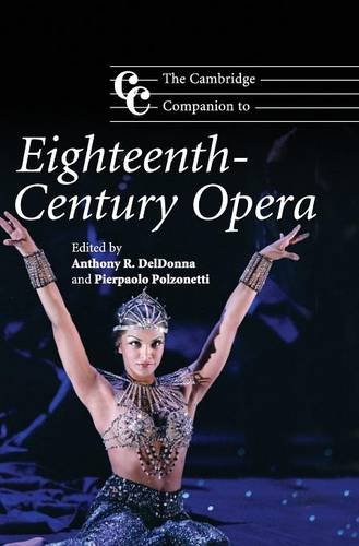 9780521873581: The Cambridge Companion to Eighteenth-Century Opera