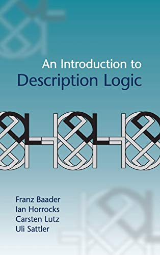 9780521873611: An Introduction to Description Logic