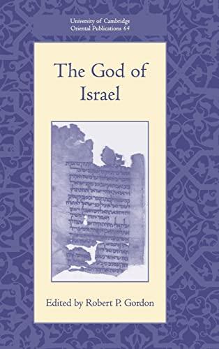 9780521873659: The God of Israel (University of Cambridge Oriental Publications)