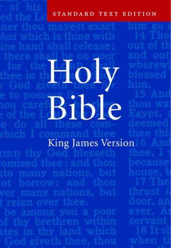 9780521873833: KJV Standard Text Blue Hardcover KJ41R