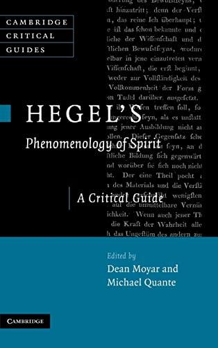 9780521874540: Hegel's Phenomenology of Spirit: A Critical Guide (Cambridge Critical Guides)