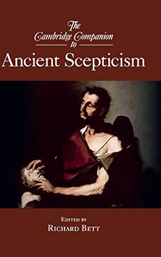 9780521874762: The Cambridge Companion to Ancient Scepticism Hardback (Cambridge Companions to Philosophy)