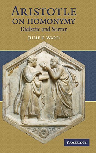 9780521874861: Aristotle on Homonymy Hardback: Dialectic and Science