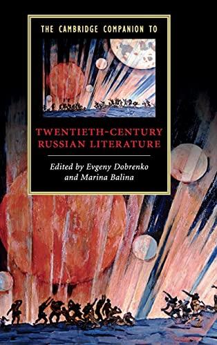 9780521875356: The Cambridge Companion to Twentieth-Century Russian Literature