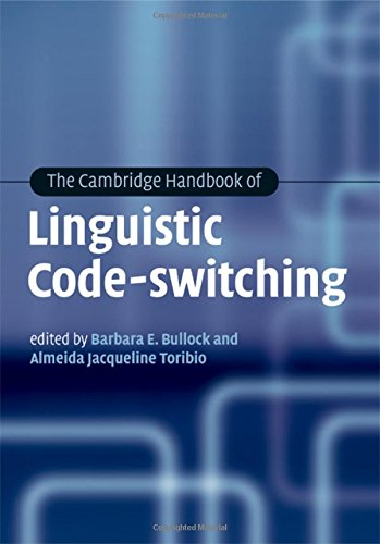 9780521875912: The Cambridge Handbook of Linguistic Code-switching