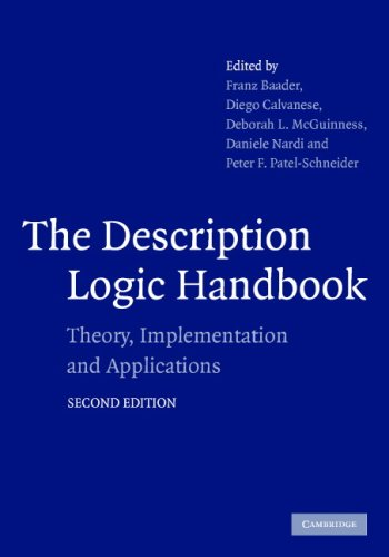 9780521876254: The Description Logic Handbook: Theory, Implementation and Applications