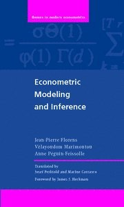 9780521876407: Econometric Modeling and Inference