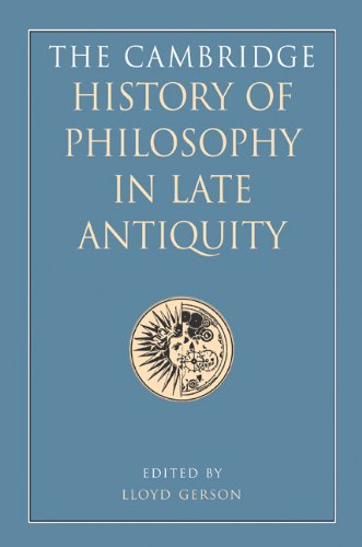 9780521876421: The Cambridge History of Philosophy in Late Antiquity 2 Volume Hardback Set 2 Hardback books (2 Volume Set)