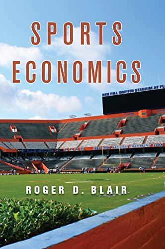 9780521876612: Sports Economics Hardback
