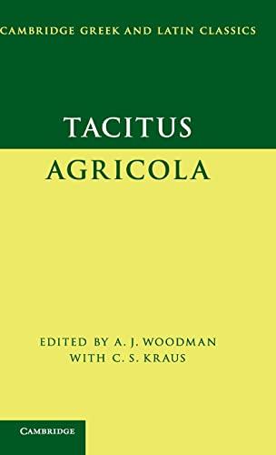 9780521876872: Tacitus: Agricola