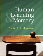 9780521877473: Human Learning and Memory