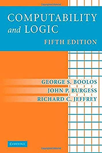 9780521877527: Computability and Logic