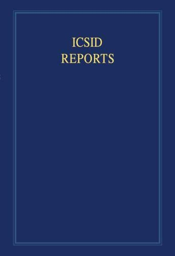 9780521878043: ICSID Reports (International Convention on the Settlement of Investment Disputes Reports): Volume 12