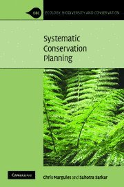 9780521878753: Systematic Conservation Planning Hardback (Ecology, Biodiversity and Conservation)
