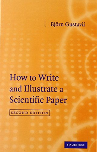 9780521878906: How to Write and Illustrate a Scientific Paper
