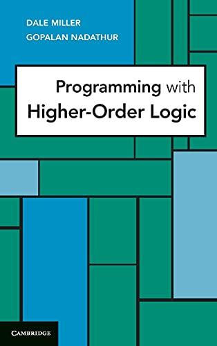 9780521879408: Programming with Higher-Order Logic Hardback