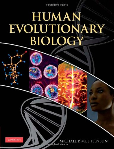 9780521879484: Human Evolutionary Biology