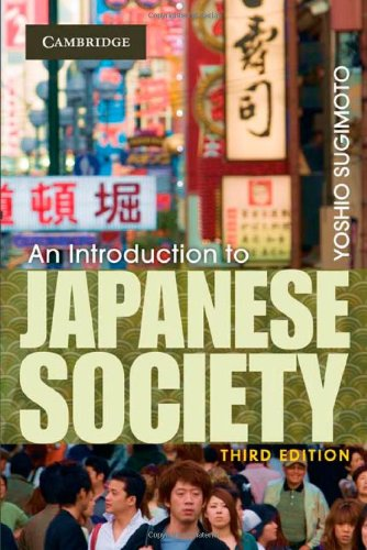 9780521879569: An Introduction to Japanese Society