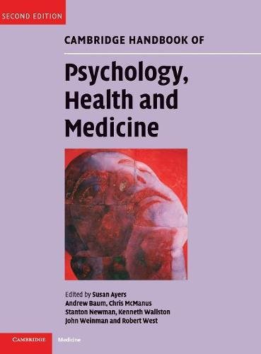 9780521879972: Cambridge Handbook of Psychology, Health and Medicine 2nd Edition Hardback