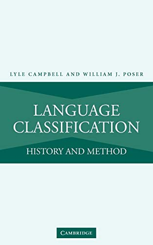 9780521880053: Language Classification: History and Method