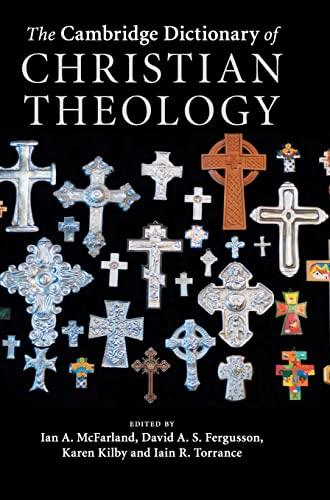 9780521880923: The Cambridge Dictionary of Christian Theology Hardback