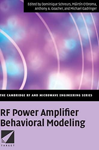 9780521881739: RF Power Amplifier Behavioral Modeling