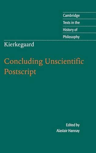 9780521882477: Kierkegaard: Concluding Unscientific Postscript (Cambridge Texts in the History of Philosophy)