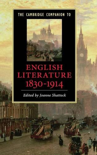 9780521882880: The Cambridge Companion to English Literature, 1830-1914