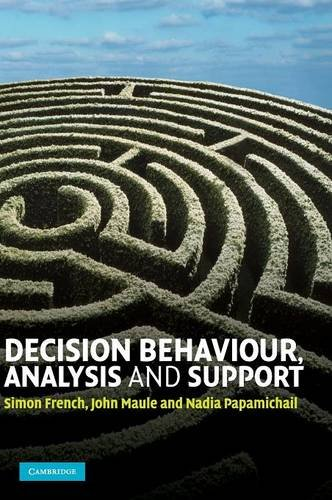 9780521883344: Decision Behaviour, Analysis and Support