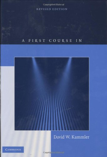 9780521883405: A First Course in Fourier Analysis